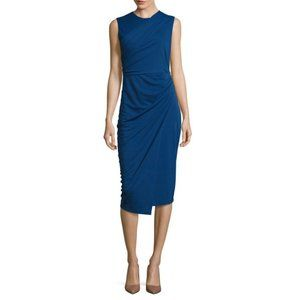 NWT Draped Sleeveless Midi Dress by DKNY